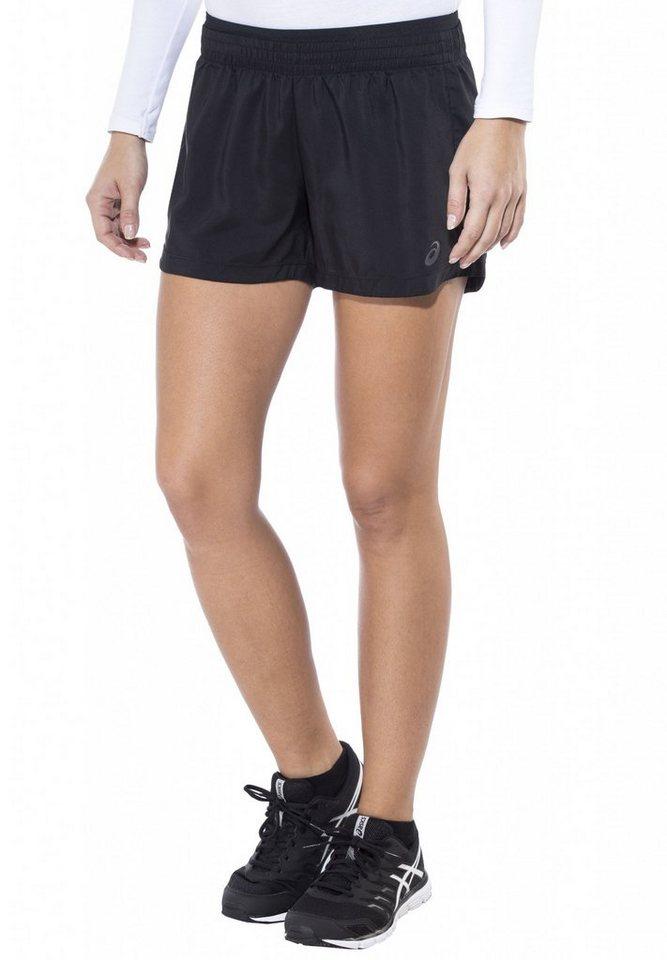 asics Jogginghose »Woven Short Women« in schwarz