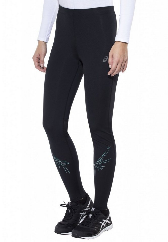 Asics Jogginghose »Stripe Tight Women« in schwarz