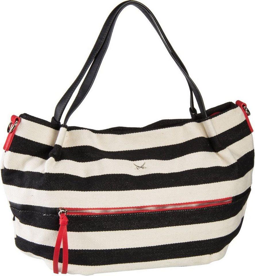SANSIBAR Ariadne 1109 Zip Bag in Black