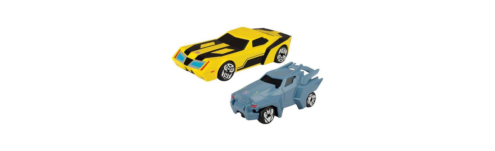 Dickie Toys Transformers 2er Pack gelb/blau