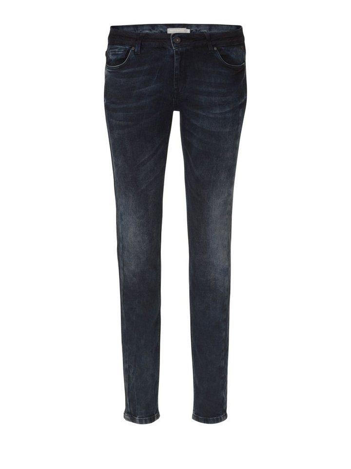 Betty&Co Jeans in Dunkelblau - Bunt