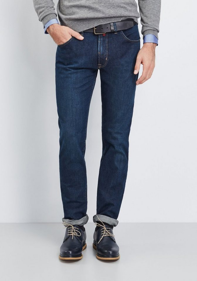 PIERRE CARDIN Jeans »Deauville« in dark-blue denim
