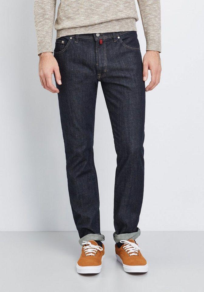 PIERRE CARDIN Jeans »Deauville« in dark-blue denim