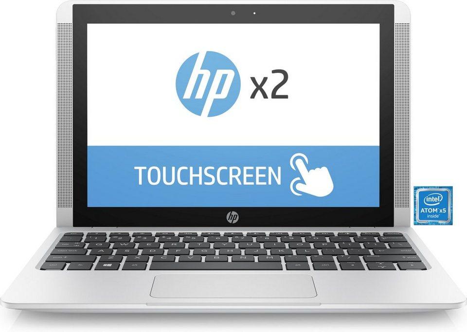 "HP x2 2 in 1 »Intel Atom x5, 25,7cm (10,1""), 32 GB, 8 GB« in Silber"