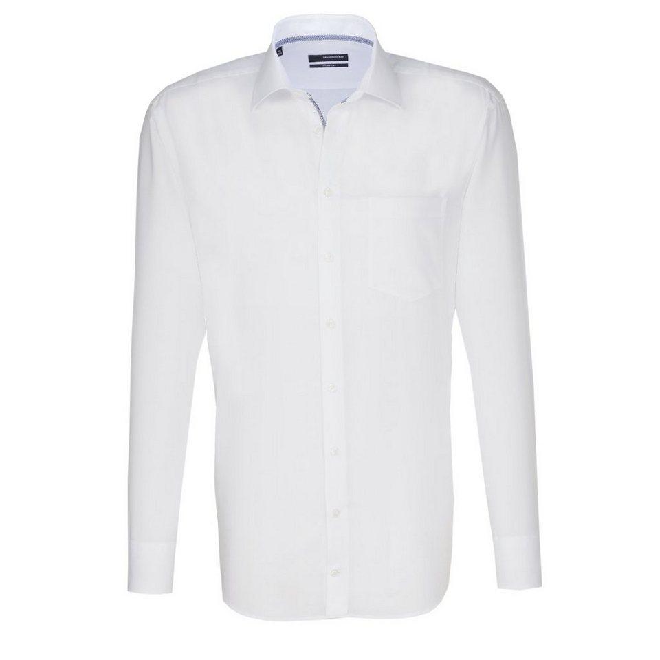 Seidensticker Businesshemd »comfort« in weiß