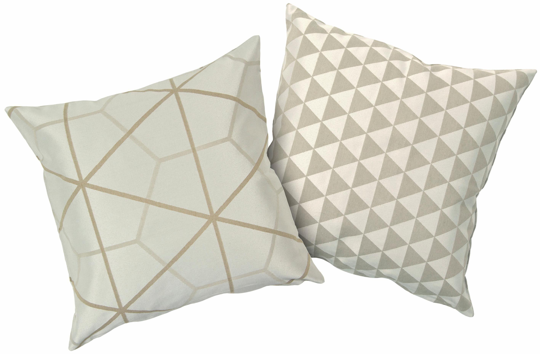 Kissenbezüge, Hagemann, »Minka«, 2 Stück in unterschiedlichem Design
