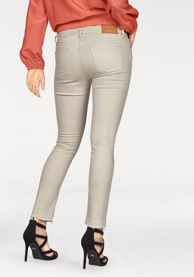 Liebeskind 5-Pocket-Jeans mit destroyed Spots in hellgrau