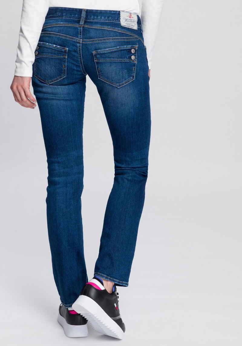 Herrlicher Gerade Jeans »PIPER STRAIGHT ORGANIC« umweltfreundlich dank Kitotex Technology