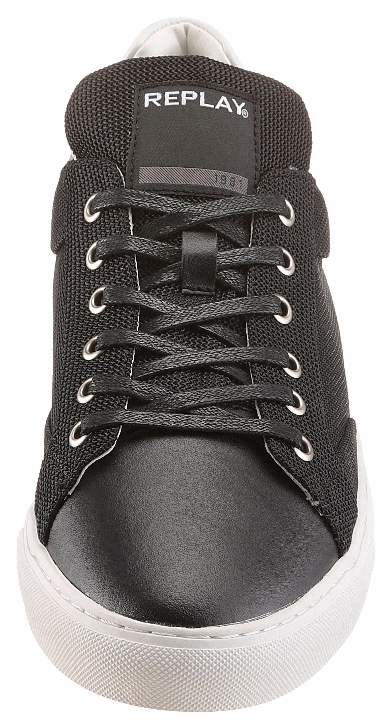Replay Bemd Sneaker, im Materialmix kaufen  schwarz-weiß