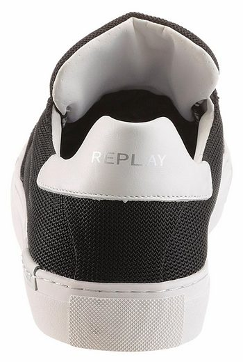 Replay Bemd Sneaker, im Materialmix