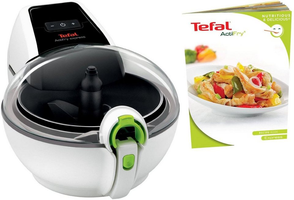 tefal heissluftfritteuse ah950w actifry express xl 1550 w. Black Bedroom Furniture Sets. Home Design Ideas