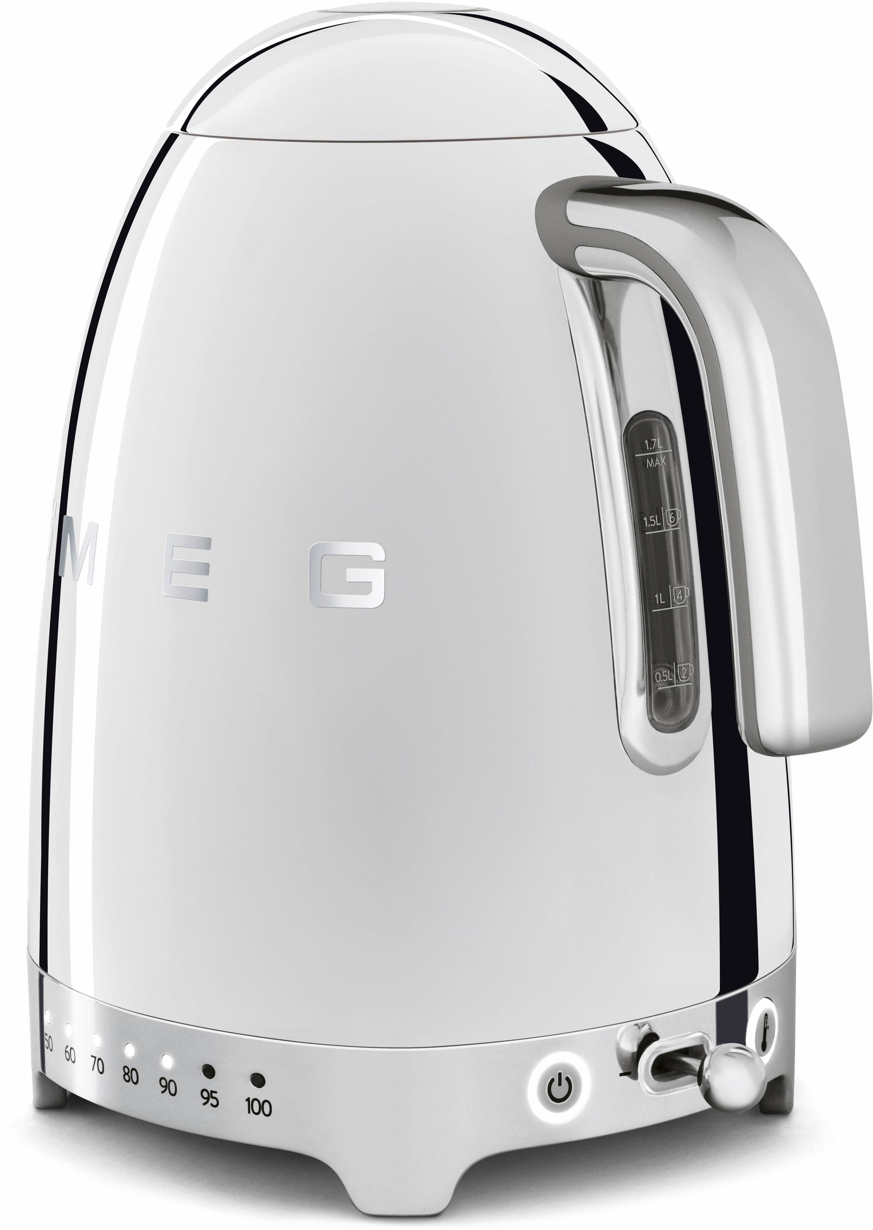 Smeg Wasserkocher KLF02SSEU, 1,7 l, 2400 W