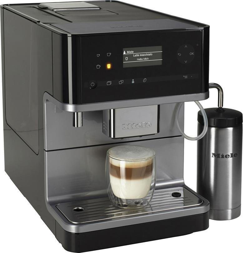 MIELE Kaffeevollautomat CM6310 inklusive Milchtank in obsidianschwarz