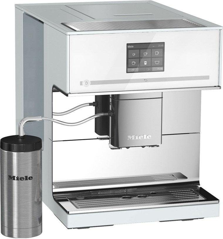 MIELE Kaffeevollautomat CM 7500, Kegelmahlwerk, inkl. Edelstahl-Thermo-Milchbehälter