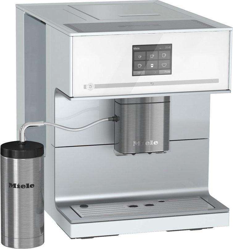 MIELE Kaffeevollautomat CM 7300, Kegelmahlwerk, inkl. Edelstahl-Thermo-Milchbehälter