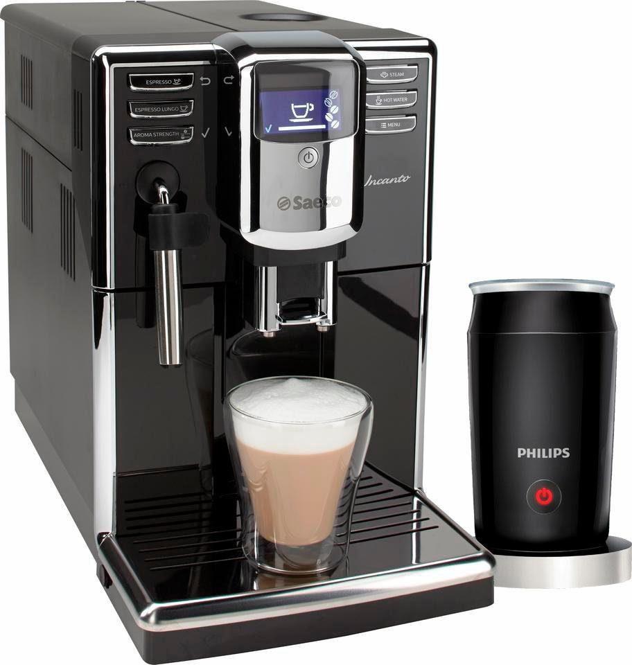 Saeco Kaffeevollautomat HD8911/01 Incanto mit Panarello, inkl. Milchaufschäumer CA6502/65 im Wert von 78,90 € UVP