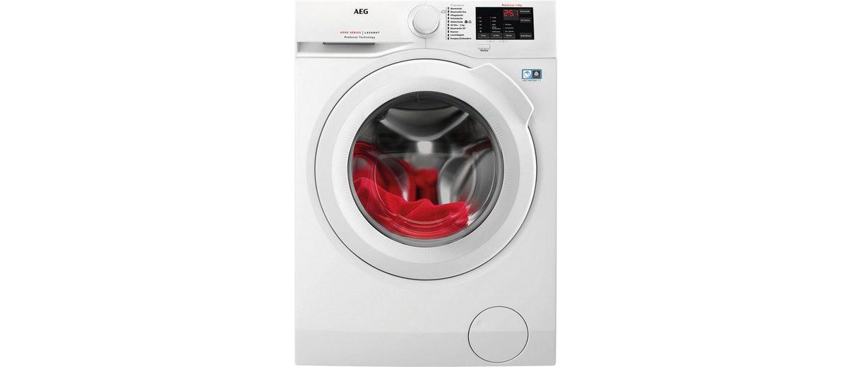 AEG Waschmaschine LAVAMAT L6FB54480, A+++, 8 kg, 1400 U/Min