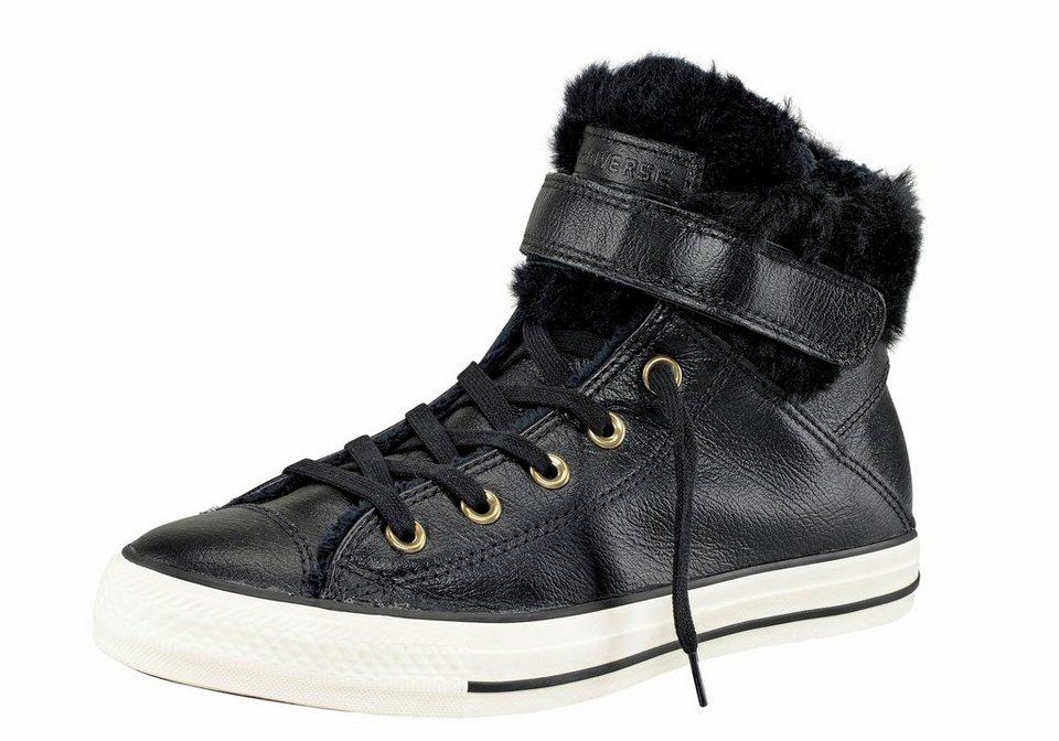 Converse »Chuck Taylor All Star Brea« Sneaker Abgefüttert mit Fellimitat in schwarz
