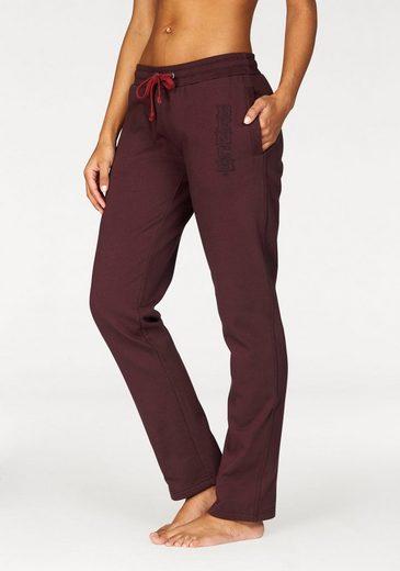 Bench. Homewear Pants mit eingesticktem Logo