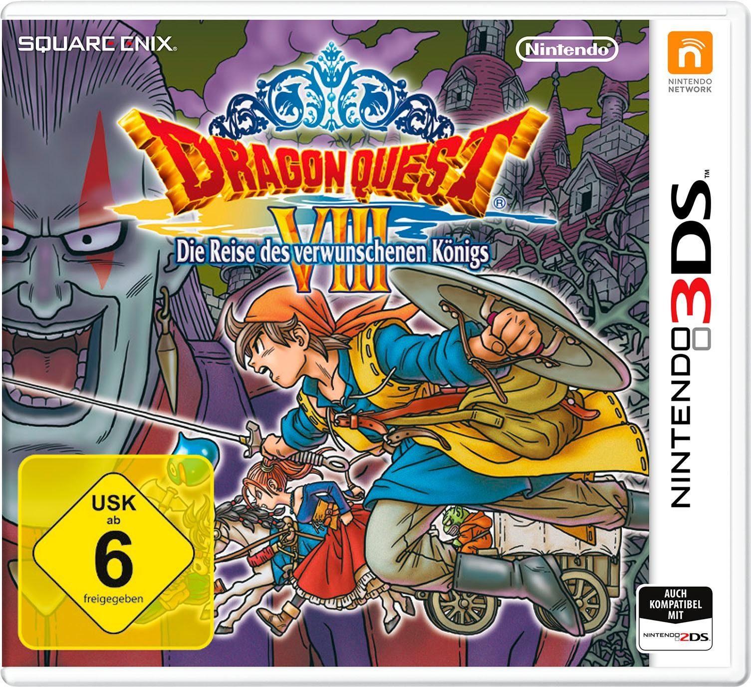 Dragon Quest VIII: Die Reise des verwunschenen Königs Nintendo 3DS