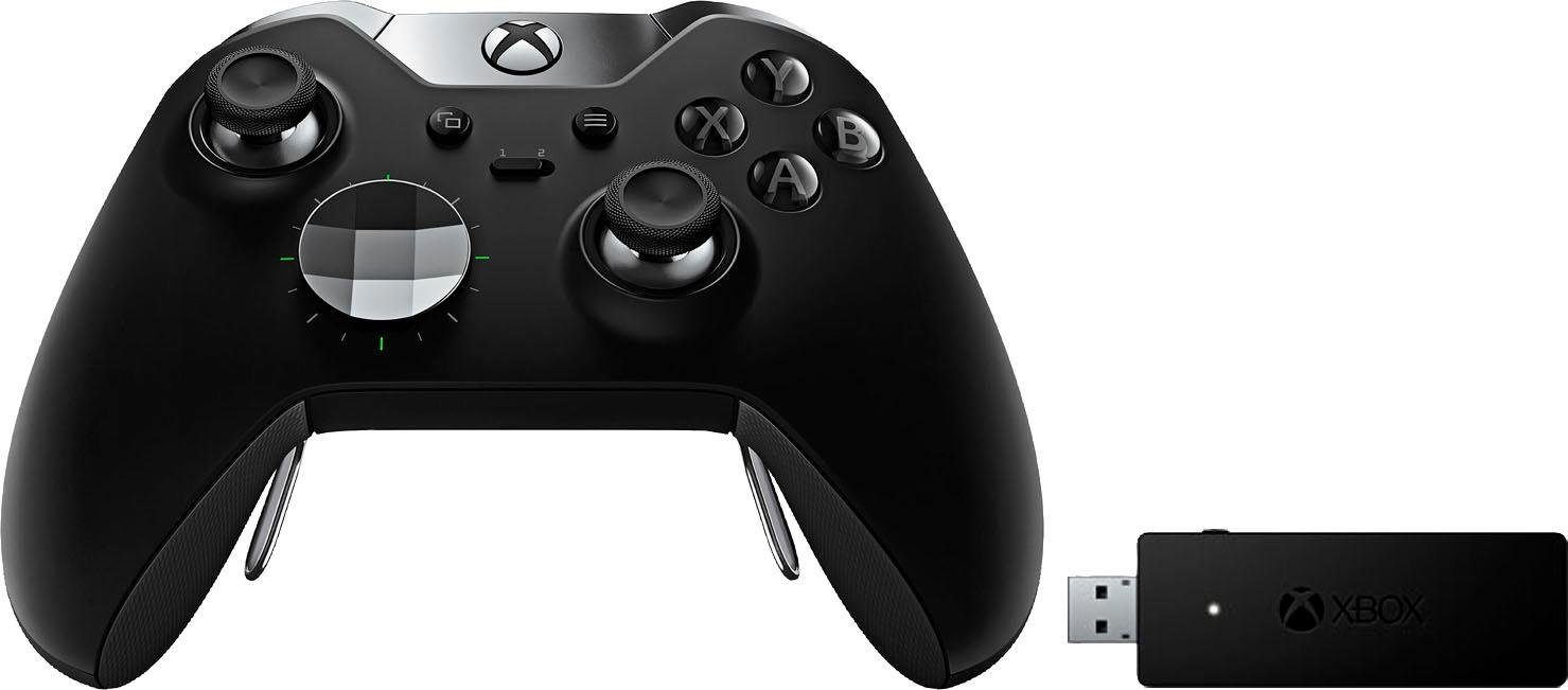 Xbox One Elite Controller + Wireless Adapter für Windows