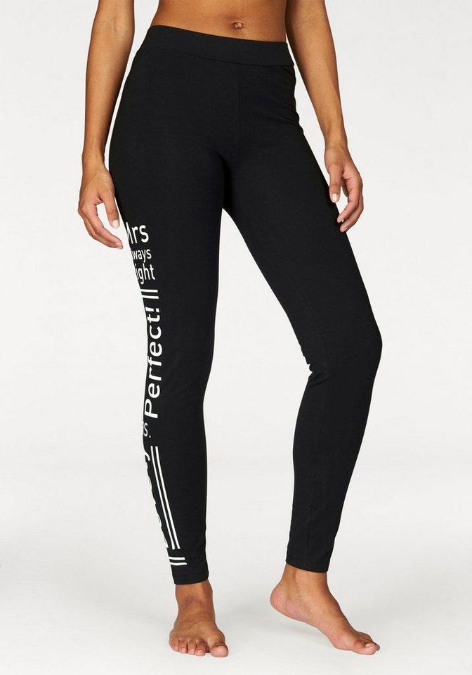 Buffalo Leggings in »Mrs perfect«-Design