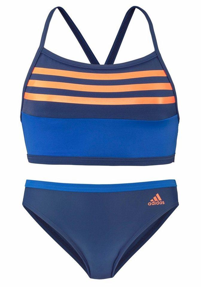 518416112f2b8 adidas Performance Bustier-Bikini mit Kontrastdetails online kaufen ...