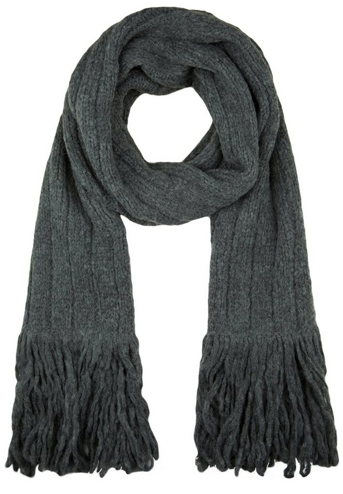 Better Rich Strickschal »SCARF« in antra