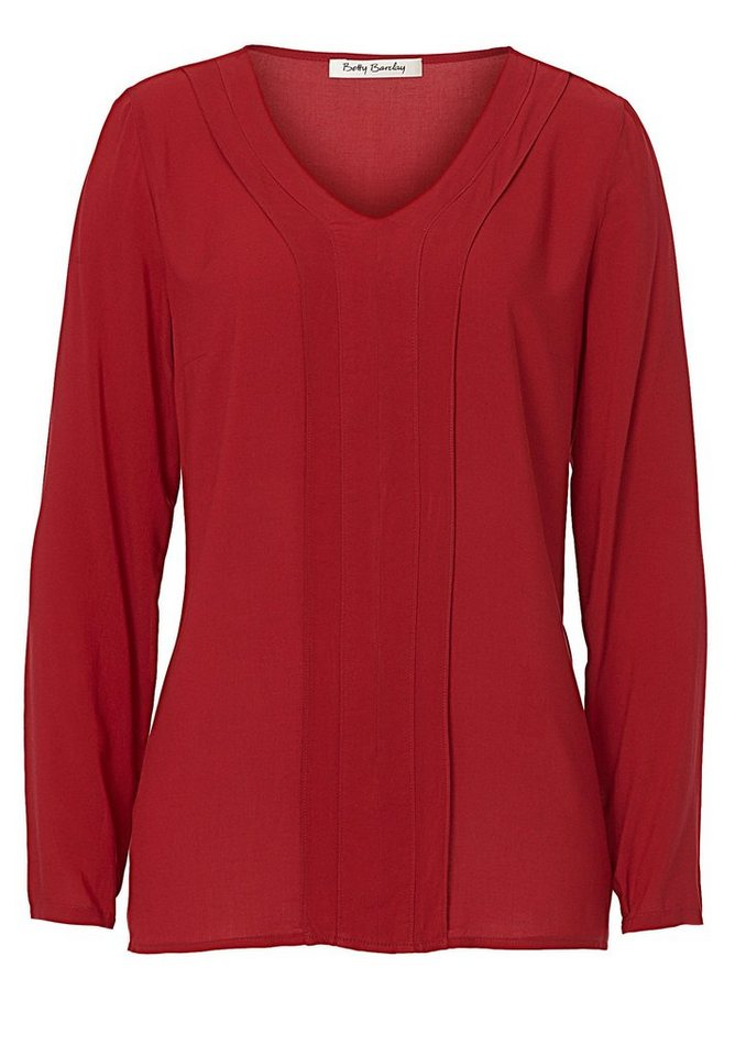 Betty Barclay Bluse in Chili Red - Rot