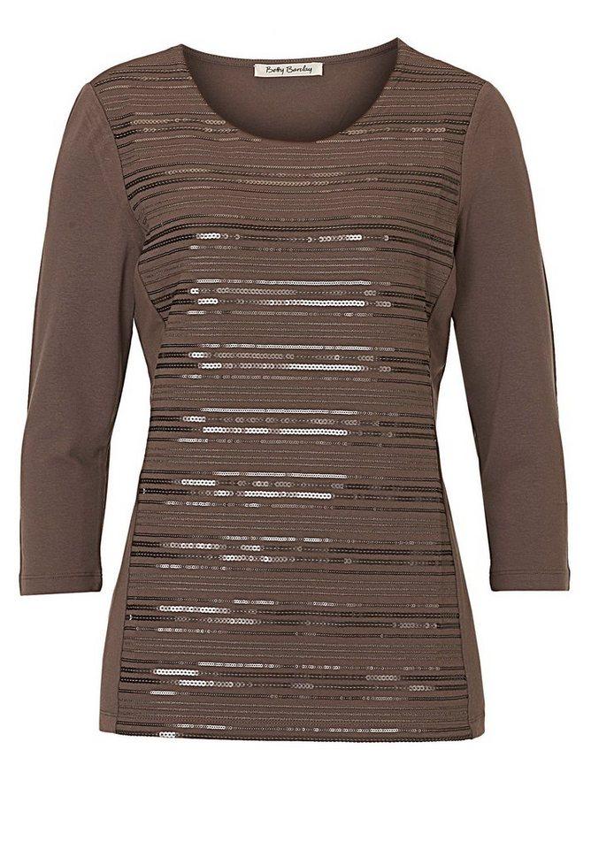 Betty Barclay Shirt in Schlamm - Grau