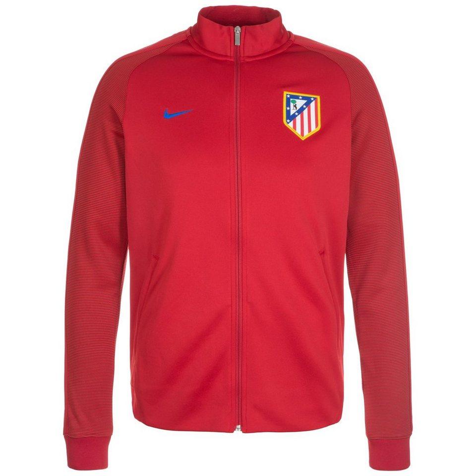 NIKE Atletico Madrid Authentic N98 Track Jacke Herren in rot / blau