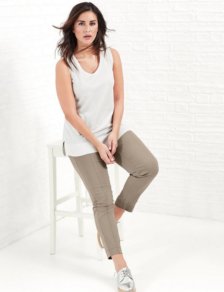 Samoon Top »Legeres Top« in Ivory