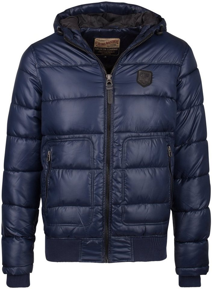 Petrol Industries Steppblouson in deep navy