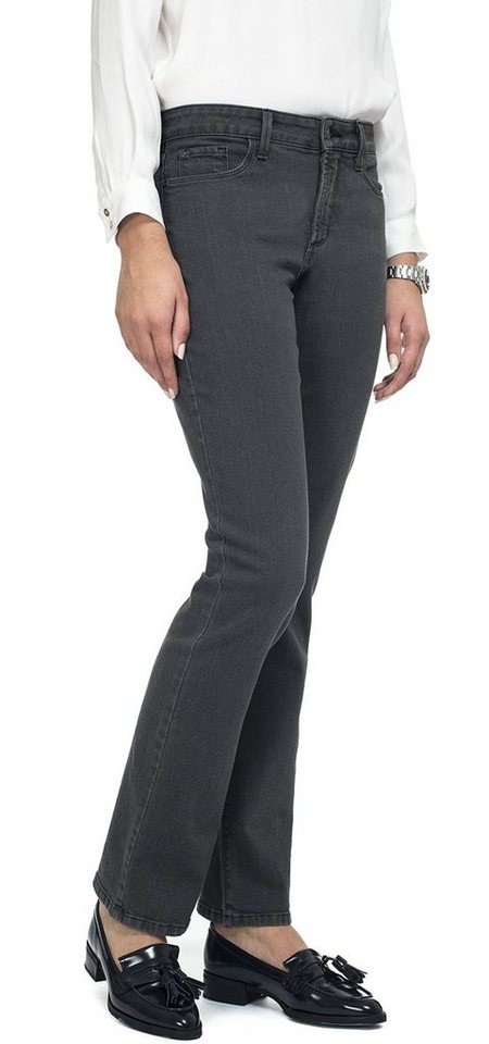 NYDJ Marilyn Straight Jeans in Grayling