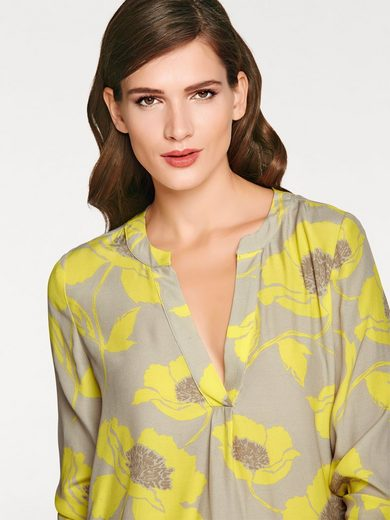 Ashley Brooke By Heine Print Blouse Flowers