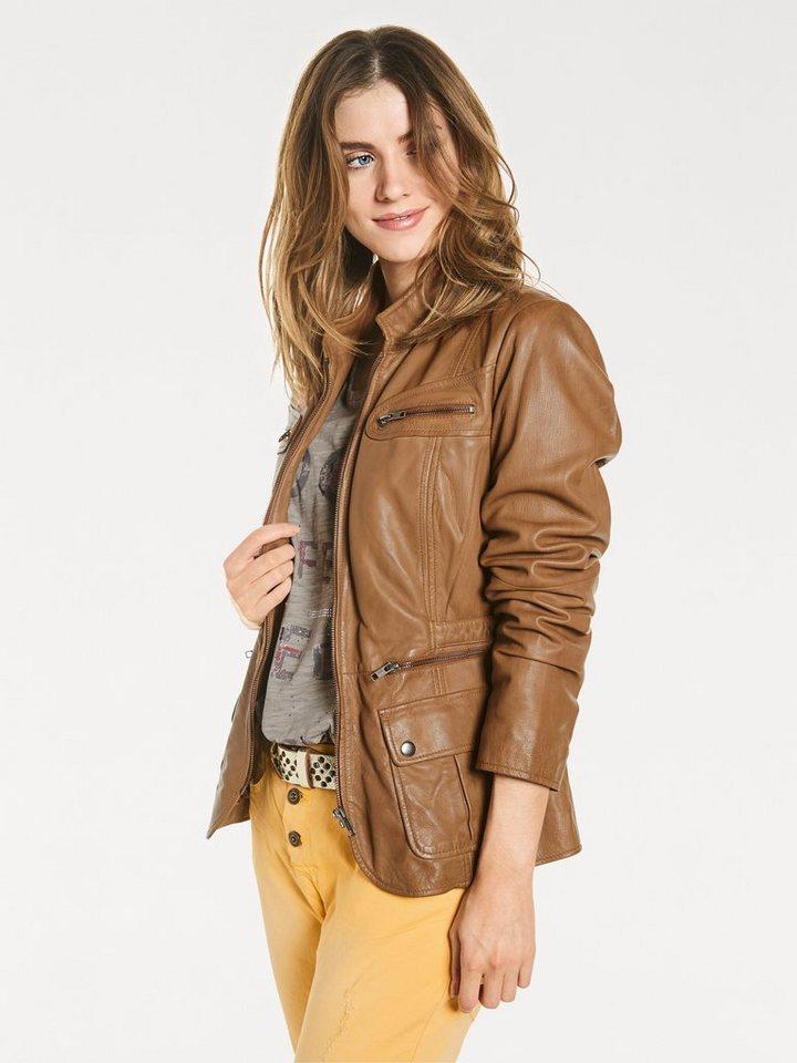 100% authentifiziert neueste Kollektion Abstand wählen heine CASUAL Lederjacke im Used-Look online kaufen | OTTO