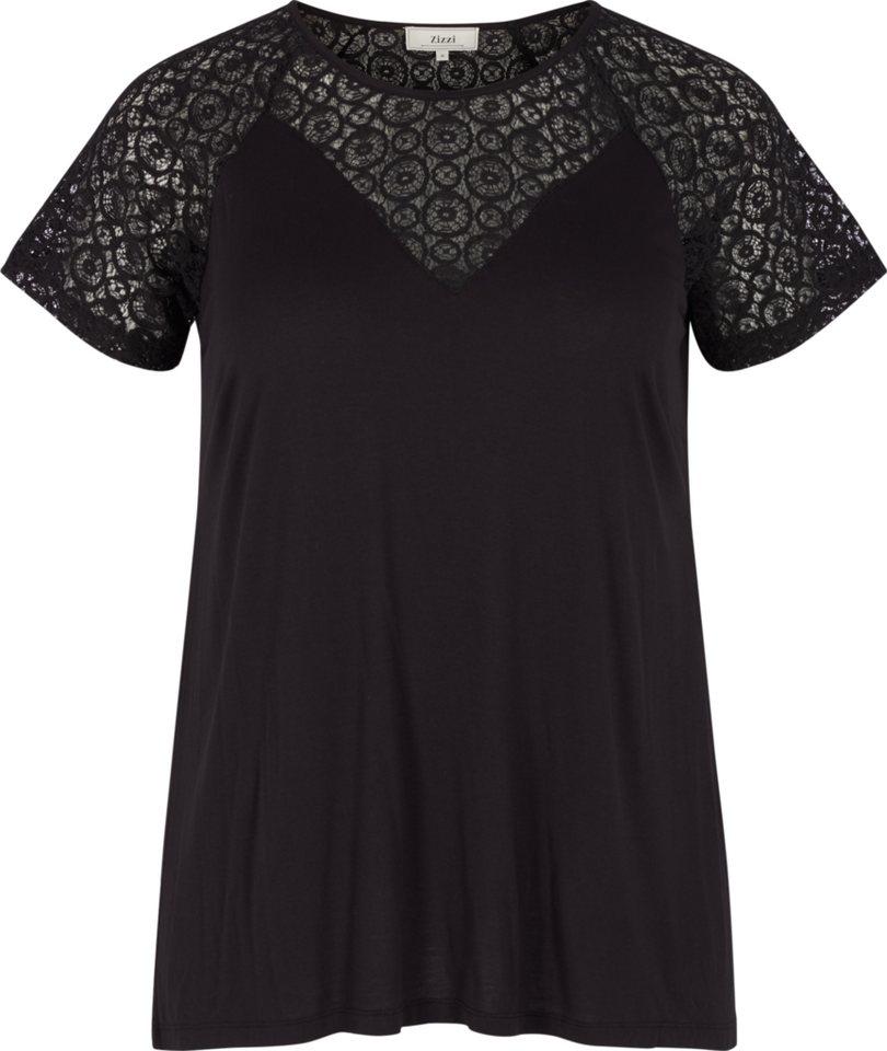 Zizzi T-Shirt in Black