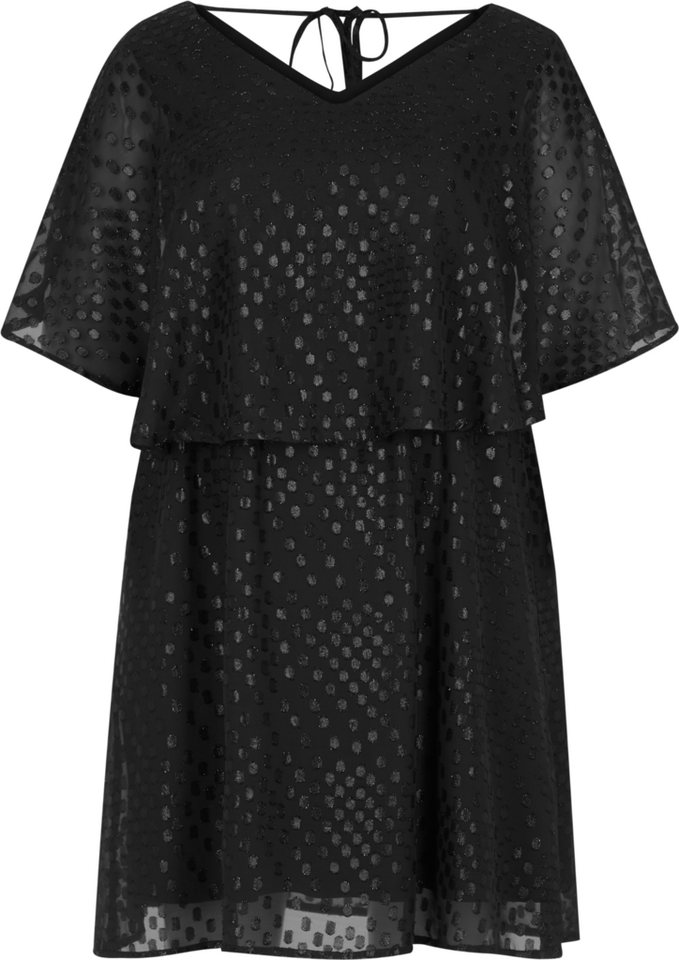 Zizzi Kleid in Black