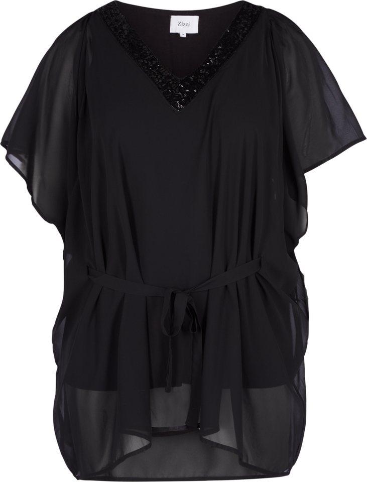 Zizzi Tunika in Black