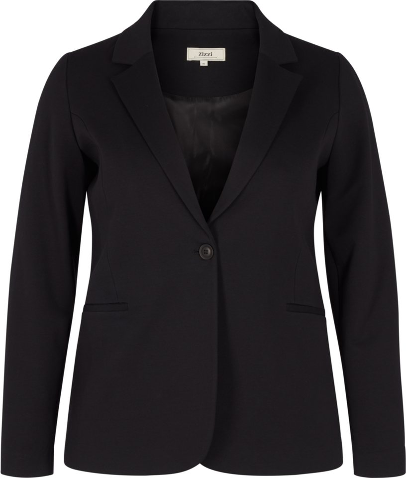 Zizzi Blazer in Black