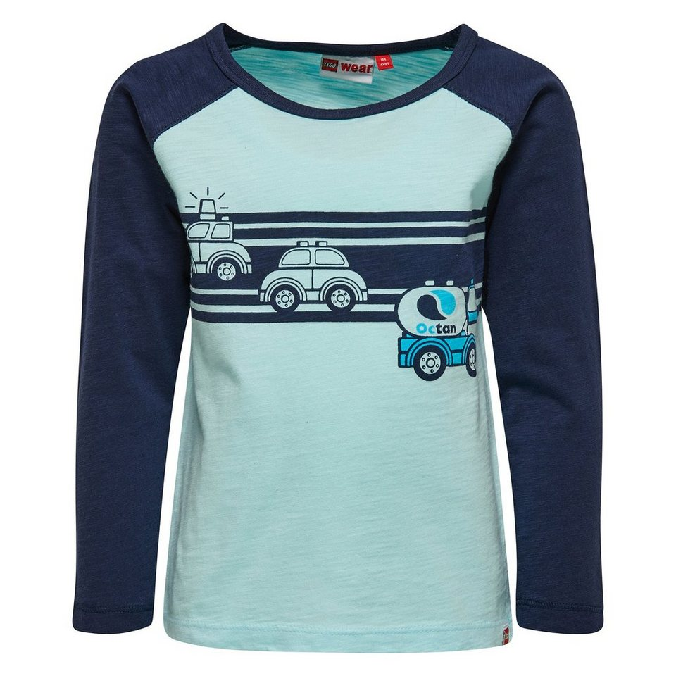"LEGO Wear Duplo Langarm-T-Shirt ""Police Car"" Shirt Texas langarm in hellblau"
