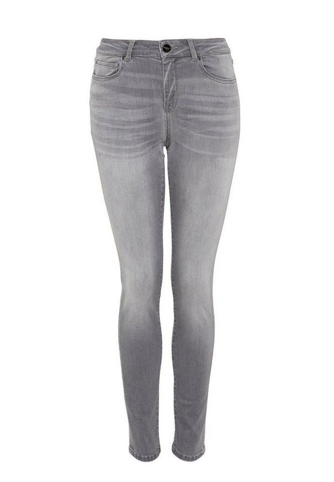 HALLHUBER Skinny-Jeans in grey denim