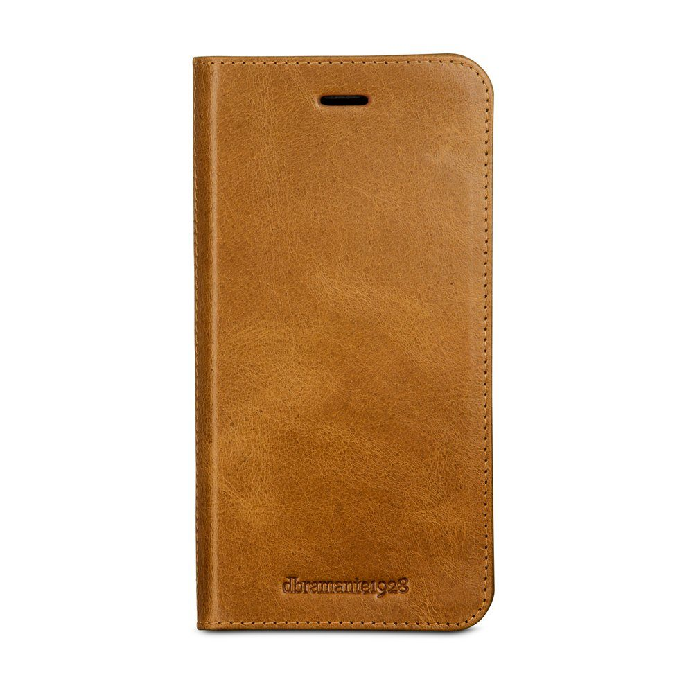 dbramante1928 LederCase »Folio Frederiksberg 3 iPhone (7) Plus Golden Tan«