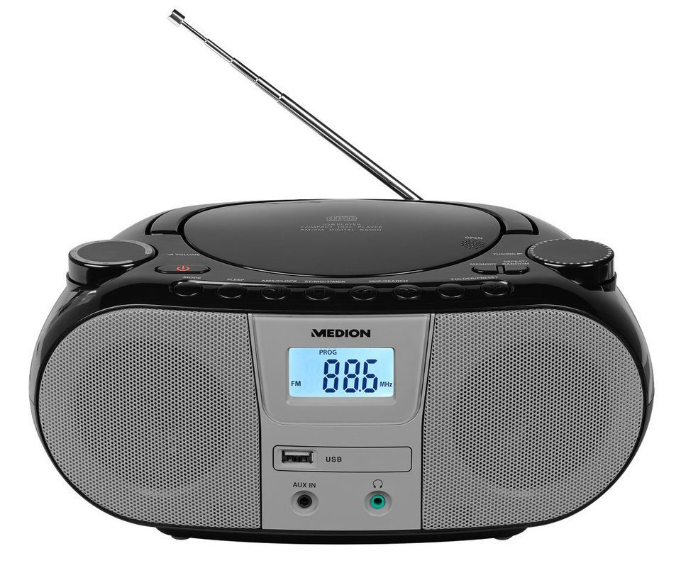 MEDION® LIFE® Stereo Sound System »P65601 (MD 44601) CD, USB & AUX«