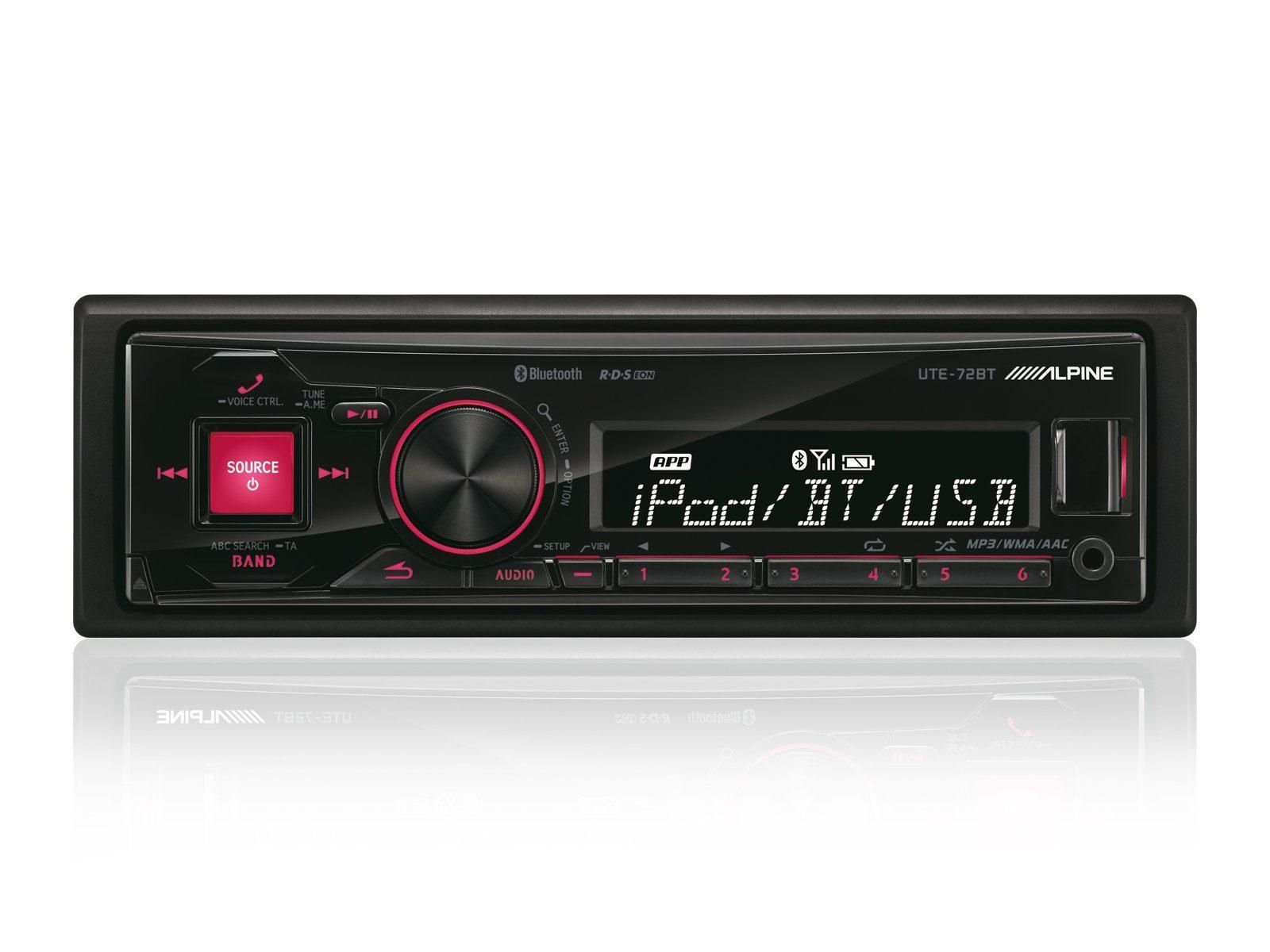 ALPINE Digital Media Receiver mit Bluetooth »UTE-72BT«