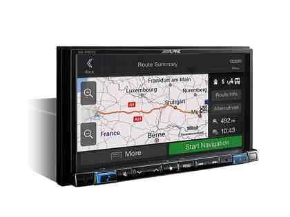 ALPINE Navigationsgerät für Wohnmobil, Camper und LKW »INE-W997DC«