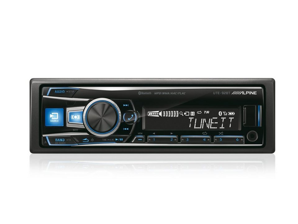 ALPINE Digital Media Receiver mit Bluetooth »UTE-92BT« in schwarz