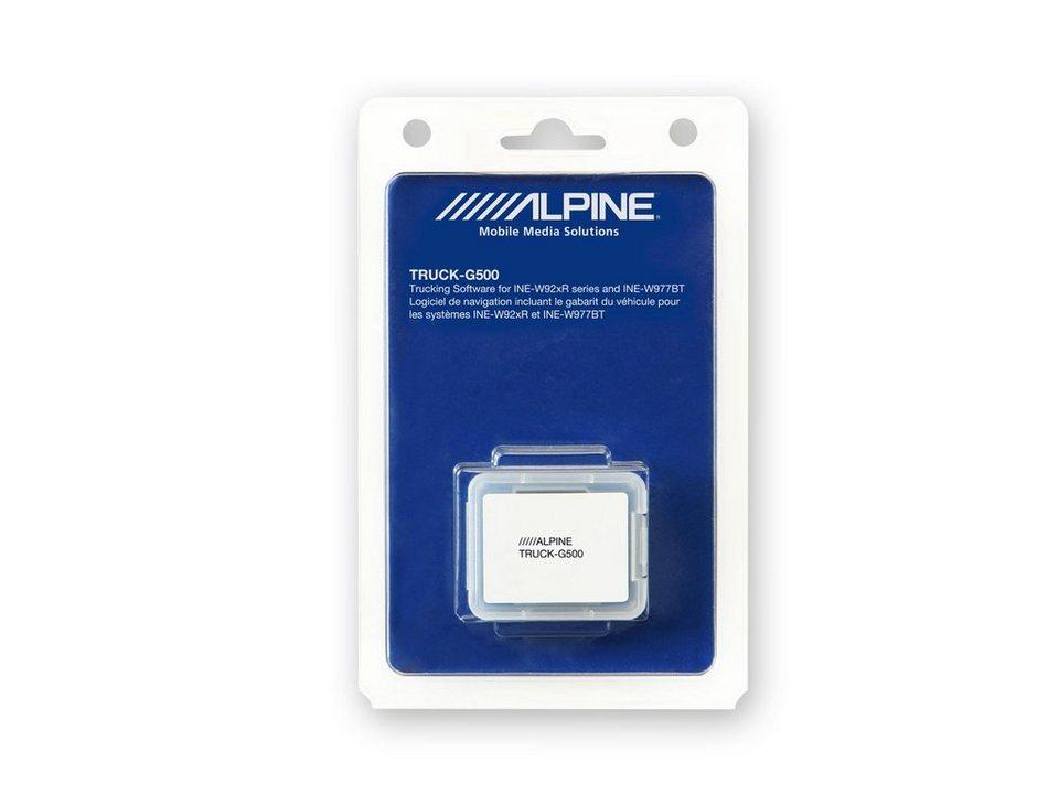 ALPINE Navigationssoftware »TRUCK-G500« in blau