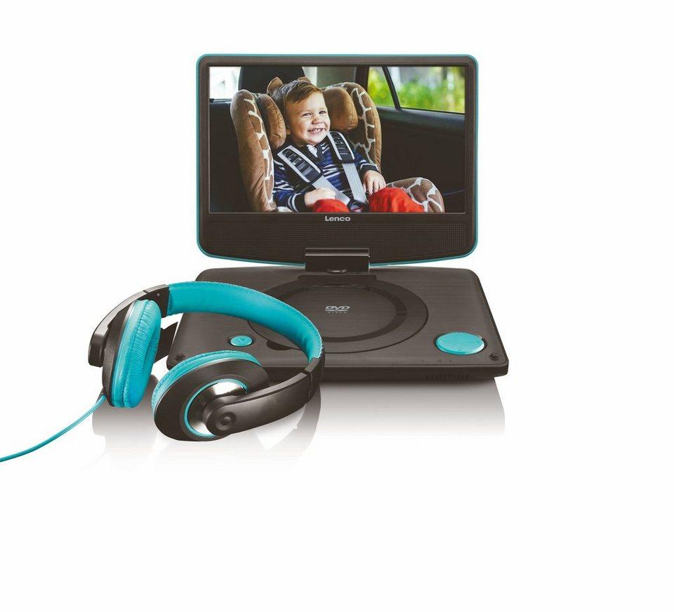 lenco tragbarer dvd player f r kfz mit fernbedienung. Black Bedroom Furniture Sets. Home Design Ideas