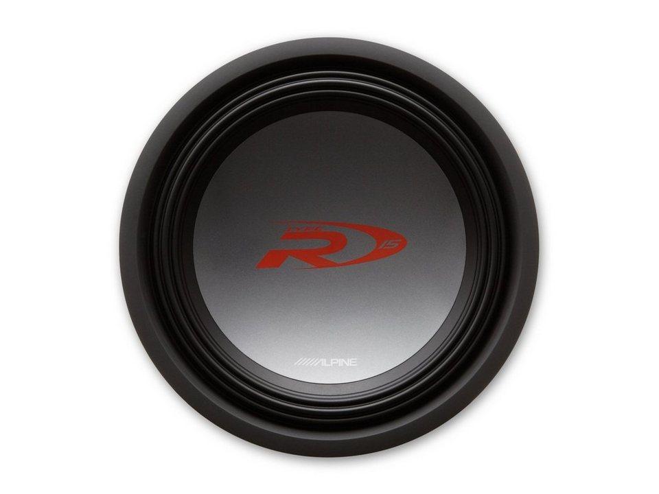 ALPINE Subwoofer »SWR-1522D« in schwarz